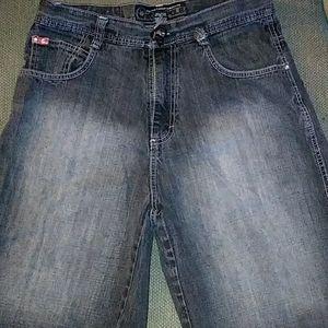 Men's Southpole Jean Shorts SZ 34
